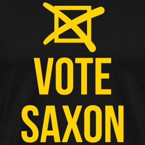 vote saxon T-Shirts - Men's Premium T-Shirt