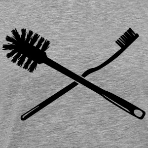 Toothbrush and toilet brush Shirt - Men's Premium T-Shirt