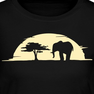 elephant Long Sleeve Shirts - Women's Long Sleeve Jersey T-Shirt