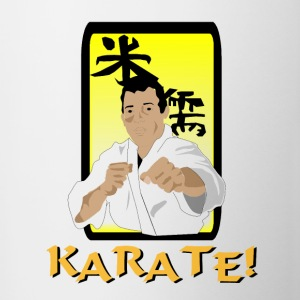 Karate Coffee Mug - Contrast Coffee Mug