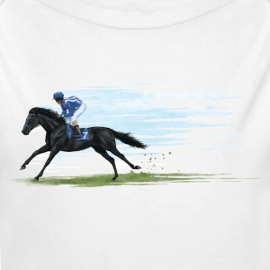 racehorse Baby & Toddler Shirts - Long Sleeve Baby Bodysuit