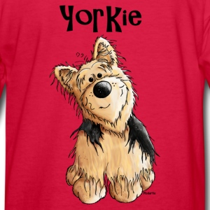 Sweet Yorkshire Terrier - Dog - Dogs Kids' Shirts - Kids' Long Sleeve T-Shirt