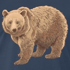 kodiak bear T-Shirts