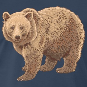 kodiak bear T-Shirts - Men's Premium T-Shirt