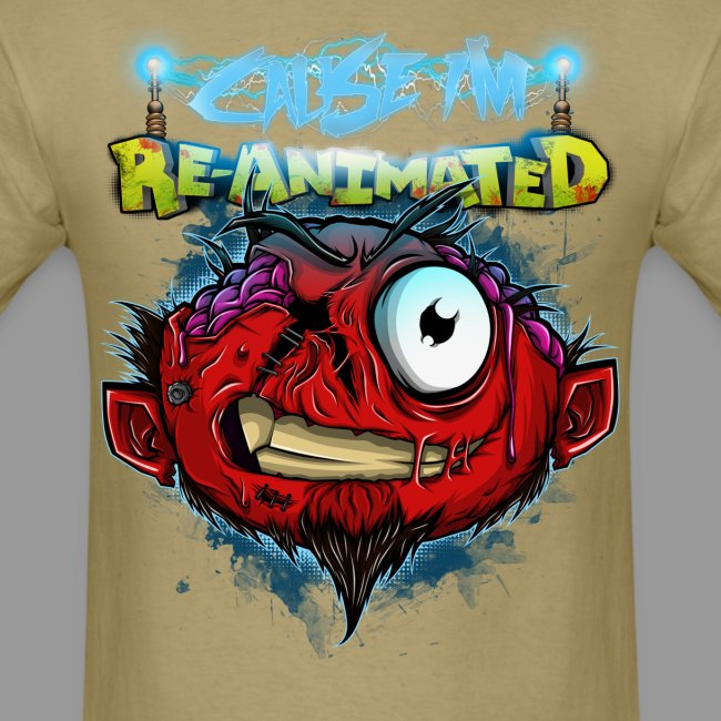"Men's ""Re-animated"" Shirt"