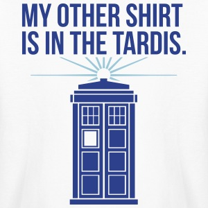 my other shirt is in the tardis Kids' Shirts - Kids' Long Sleeve T-Shirt