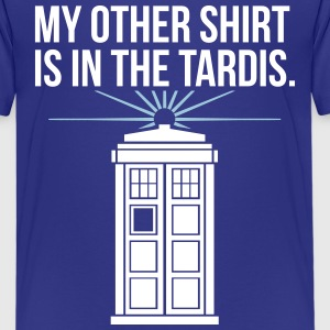 my other shirt is in the tardis Kids' Shirts - Kids' Premium T-Shirt