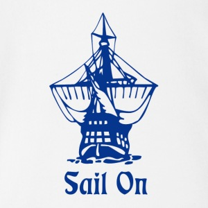 Sail on Baby & Toddler Shirts - Short Sleeve Baby Bodysuit
