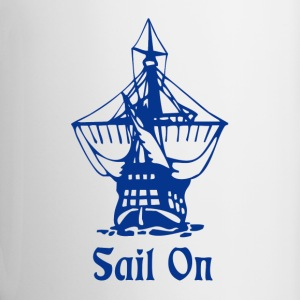 Sail on Bottles & Mugs - Contrast Coffee Mug