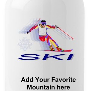 Ski Resort Bottles & Mugs - Water Bottle