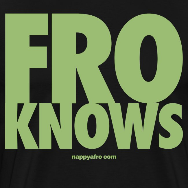 FRO KNOWS (GREEN)