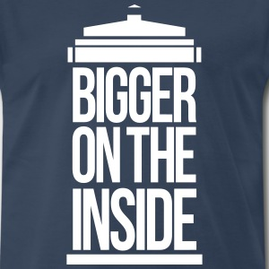 bigger on the inside T-Shirts - Men's Premium T-Shirt