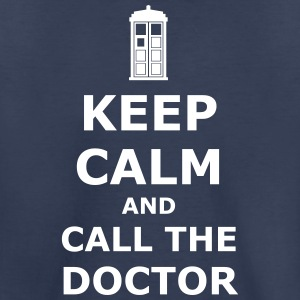 keep calm and call the doctor Kids' Shirts - Kids' Premium T-Shirt