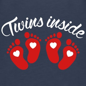 Twins inside Tanks - Women's Premium Tank Top