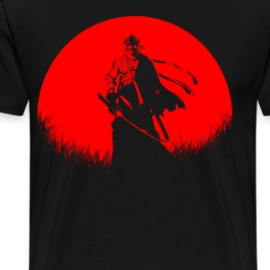 Red Moon Burn Shishio - Men's Premium T-Shirt