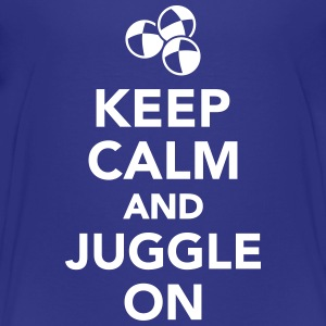 Keep calm and juggle on Kids' Shirts - Kids' Premium T-Shirt