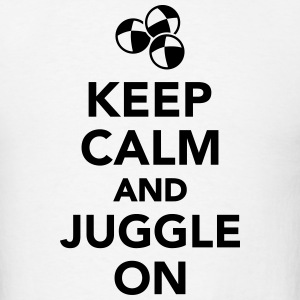 Keep calm and juggle on T-Shirts - Men's T-Shirt