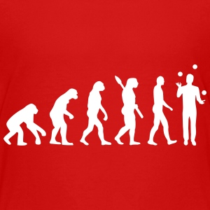Evolution Juggling Kids' Shirts - Kids' Premium T-Shirt