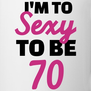 Sexy 70 Birthday Bottles & Mugs - Coffee/Tea Mug