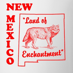 New Mexico, Land of enchantment state coffee cup - Coffee/Tea Mug