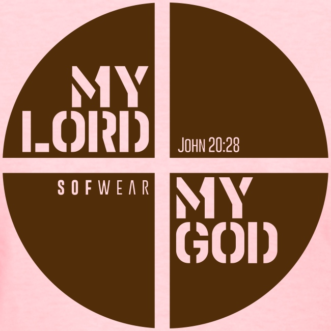 My Lord My God Tee - Womens