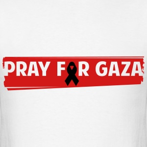 Pray For Gaza - Men's T-Shirt