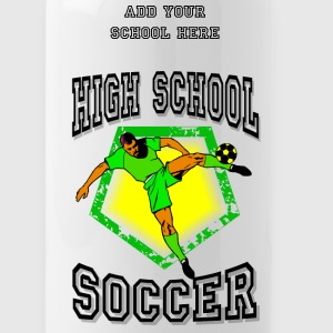 High School Soccer Bottles & Mugs - Water Bottle