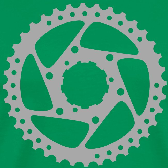 bicycle chainring (silver)