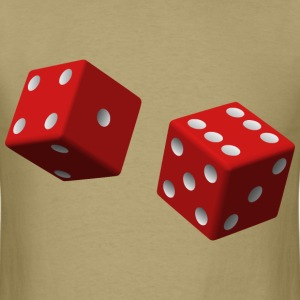Two Red Dice - Men's T-Shirt