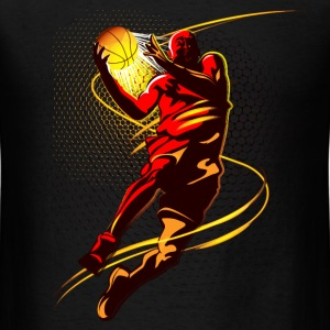 basketball player jumping style - Men's T-Shirt