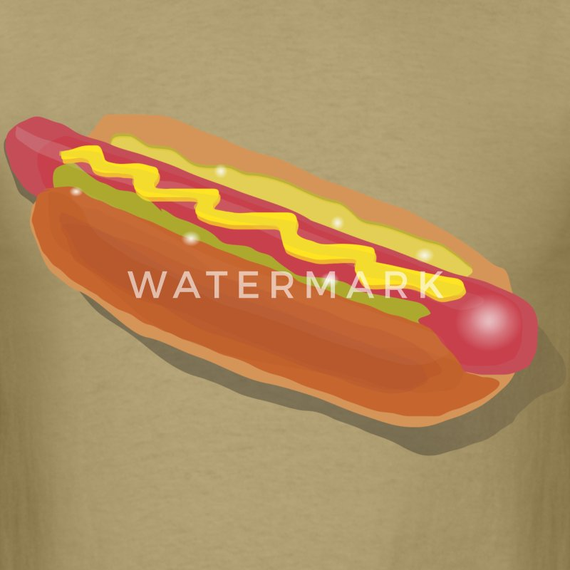Hot Dog Sandwich - Men's T-Shirt