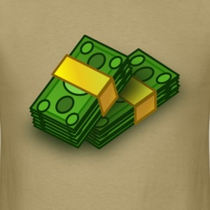 Stacks of Money - Men's T-Shirt