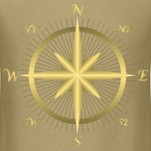 Golden Compass - Men's T-Shirt