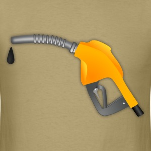 Yellow Gasoling Pump - Men's T-Shirt