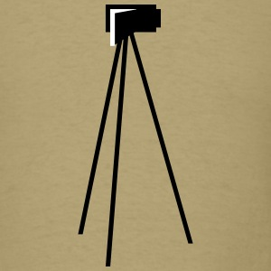 Video Camera Tripod - Men's T-Shirt