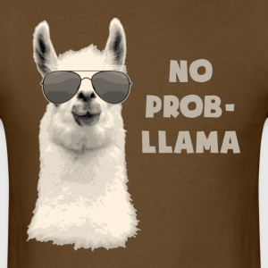 No Problem Llama T-Shirts - Men's T-Shirt