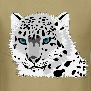 Snow leopard - Men's T-Shirt