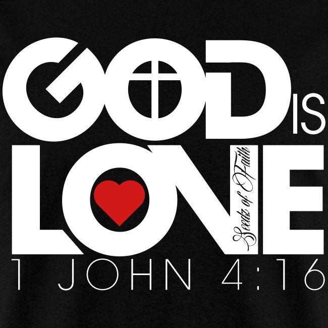 God Is Love Tee - Mens