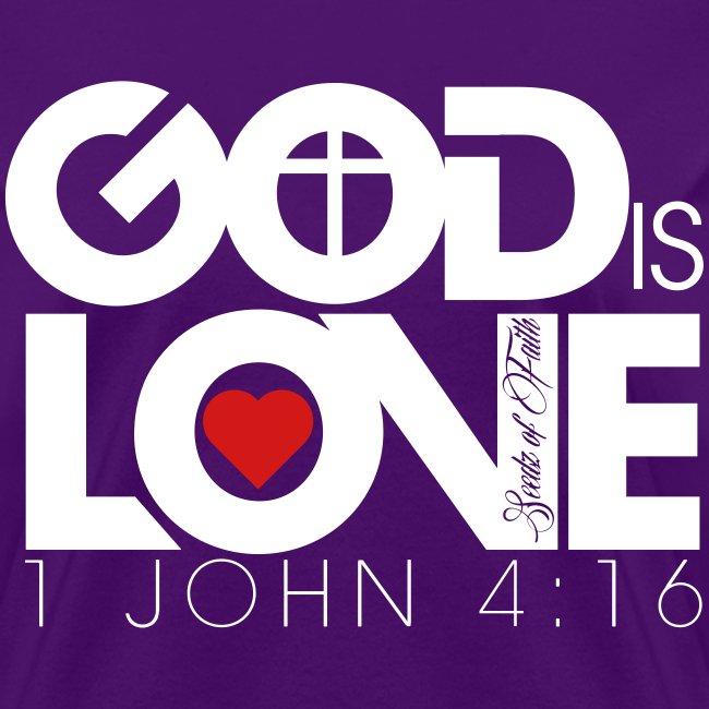 God is Love Tee - Womens
