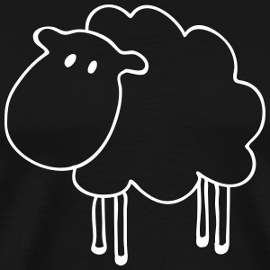 sheep T-Shirts - Men's Premium T-Shirt