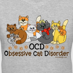 OCD Obsessive Cat Disorder - Women's V-Neck T-Shirt