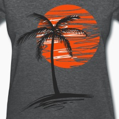Palm tree Women's T-Shirts