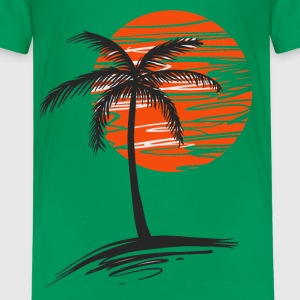 Palm tree Kids' Shirts - Kids' Premium T-Shirt