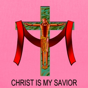 Christ Is My Savior Bags & backpacks - Tote Bag