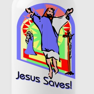 Jesus Saves Bottles & Mugs - Water Bottle