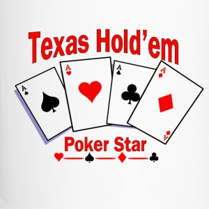 Texas Hold'em Poker Star Bottles & Mugs - Travel Mug