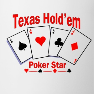 Texas Hold'em Poker Star Bottles & Mugs - Coffee/Tea Mug