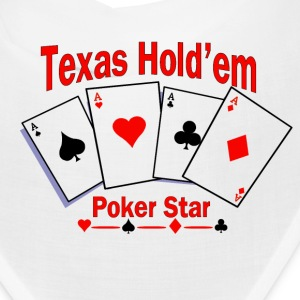 Texas Hold'em Poker Star Caps - Bandana