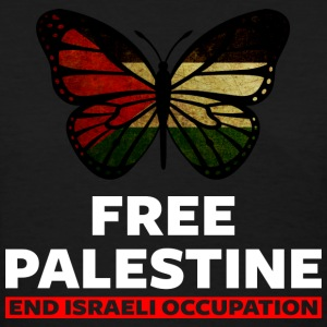 Free Palestine end Israeli Occupation - Women's T-Shirt