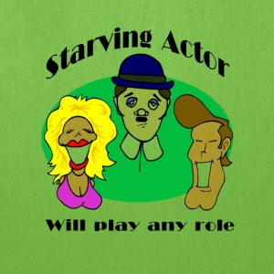 Starving Actor Bags & backpacks - Tote Bag